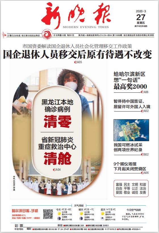 哈尔滨市级报纸新晚报登报易
