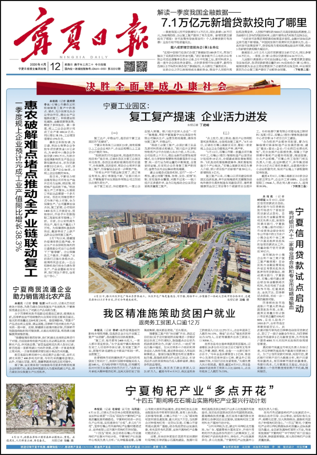 宁夏回族自治区级报纸登报|宁夏日报登报|登报易